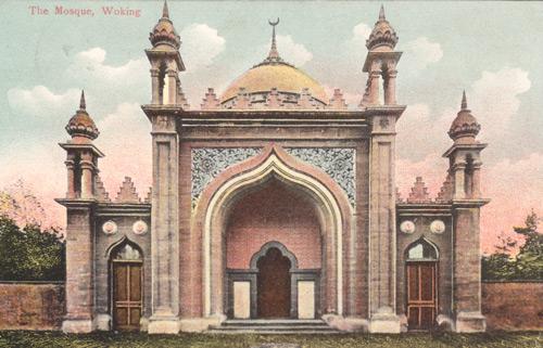 La mosquée de Woking