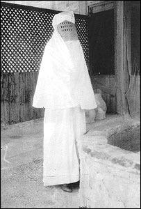 Lady Cobbold lors de son pèlerinage à La Mecque en 1933