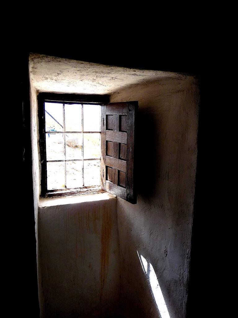 Fenêtre, Consuegra (Espagne), photo de Paolo Valdivieso sur Flickr, 2009